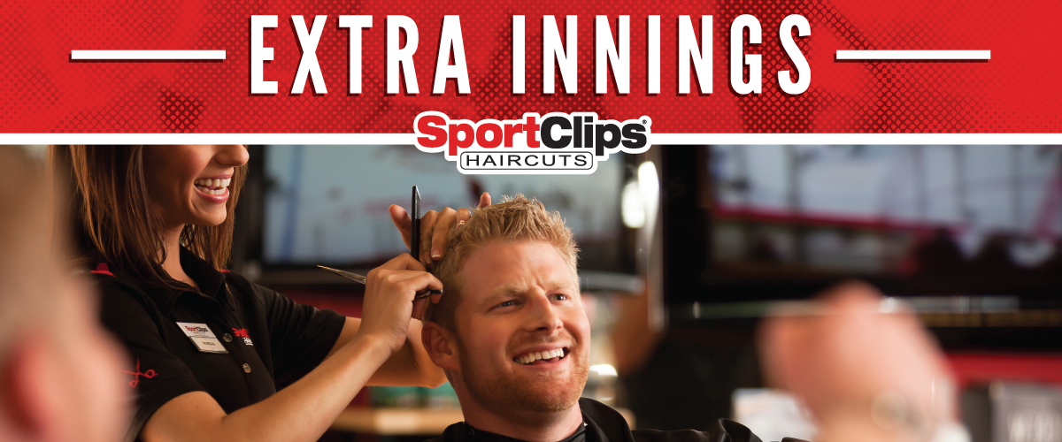 The Sport Clips Haircuts of Round Rock -Palm Valley Plaza Extra Innings Offerings